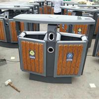 供应唐山分类垃圾桶报价钢木垃圾桶销售