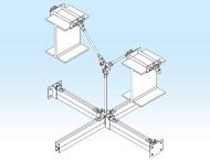组合式支吊架网格系统/支吊架网格系统