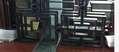 供应会所不锈钢隔断 黑钛镜面不锈钢隔断