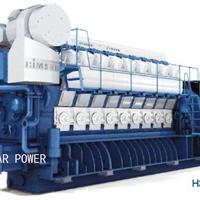 供应现代燃气发电机组(2.7MW~28.5MW)