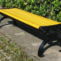 供应渭南塑木园林椅公园椅