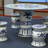 景德镇瓷桌瓷凳,陶瓷凳子,园林座椅
