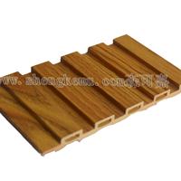 供应仿木 塑木 生态木 背景墙板 包边长城板