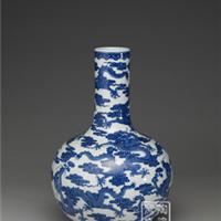 供应装饰花瓶 高仿天球瓶 青花瓷瓶礼品
