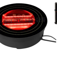 供应圆形火锅电陶炉 美食炉 线控火锅光波炉