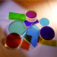 供应多种牌号,尺寸的有色玻璃滤光片