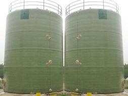 曼海姆法硫酸钾肥专用玻璃钢储罐、盐酸储罐储槽、贮槽、塔