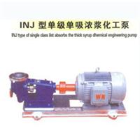 供应天马INJ浓浆化工泵 天马INJ化工泵密封