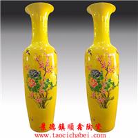 开业礼品陶瓷大花瓶 景德镇陶瓷花瓶厂