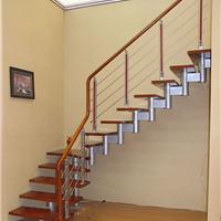 克拉玛依楼梯专卖店西边亮楼梯钢木楼梯