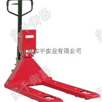 上海2000kg轮式叉车秤