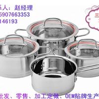 供应北京厨具批发市场热销中高档锅具套装