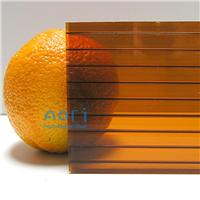 厂家供应PC阳光板耐力板中空阳光板采光遮阳