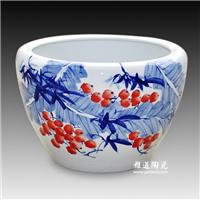 陶瓷大水缸,陶瓷大水缸价格,养鱼大缸图片