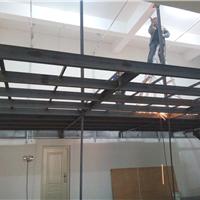 供应大连钢结构阁楼价格 白钢铁艺 地弹门