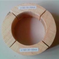 西安防腐空调木托,橡塑管托型号
