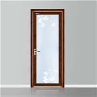 供应亚材门窗越南黄花梨铝合金房间平开门