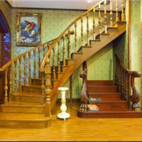 佛山楼梯,实木楼梯,实木扶手实木立柱供应