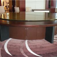 北京酒店、餐厅玻璃转盘定做安装