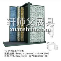 外墙瓷砖展示架地爬壁样品展览促销