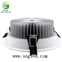 供应6寸18瓦LED筒灯  开孔尺寸140mm