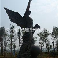 园林景观雕塑仿真玻璃钢不锈钢铜人物雕塑