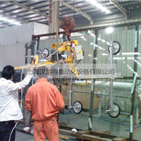 钢化玻璃吸盘翻转吊具、玻璃幕墙安装吸盘