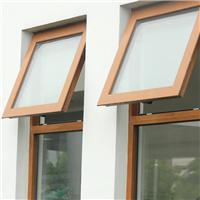 供应聚氨酯65节能窗-外开上悬窗