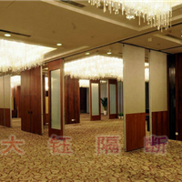 酒店宴会厅活动隔断移动隔断-活动隔墙