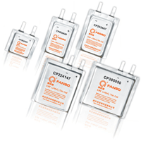 .ETC电子标签专用3.0v方形软包装锂电池CP224147
