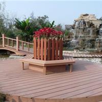 户外园林景观木塑地板 栈道塑木方孔地板