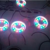 供应LED全彩圆形喷泉灯,大功率水下喷泉灯