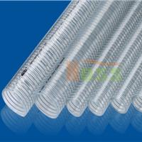 供应钢丝透明管 pu钢丝伸缩管