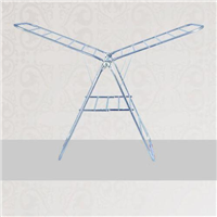 不锈钢栏杆/全钢翼形折叠晾衣架JJ-LSJ-001