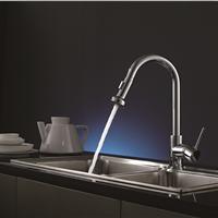 高尖SP-24014全铜冷热旋转厨房菜盆水槽龙头