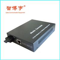 智博宇百兆单模双纤内电光纤收发器1台起批
