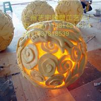 砂岩灯罩 园林景观雕花灯塔 卡通灯罩