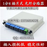 PLC插卡式光分路器