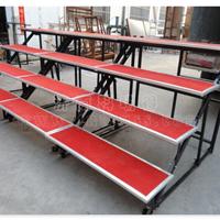 供应专业折叠合唱台 钢铁镀锌喷塑合唱台