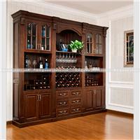 欧式酒柜定做精选FAS级美国红橡木