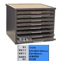 供应优惠定做台面板展示柜 石材展柜 CTG006