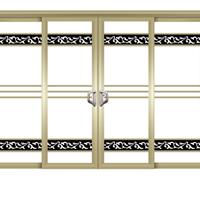 铝合金吊趟门安装