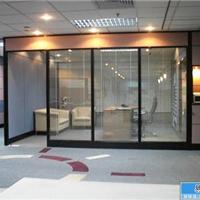 无锡办公室双层玻璃百叶隔断