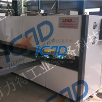 供应厂家专业定做力得大铁门木纹转印机