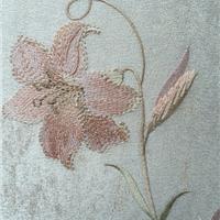 无缝墙布 织女星高档提花环保壁布 欧式简约