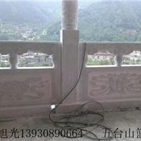 曲阳汉白玉石雕栏板栏杆柱子 石头栏板扶手加工厂家