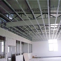 寧波輕鋼龍骨吊頂安裝方法