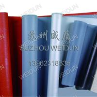 供应夹钢丝双面硅胶玻纤布,二布三胶硅胶布