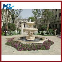 供应厂家专业制作广场 创意新型石雕喷泉池