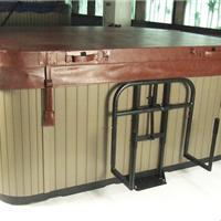 供应腾龙舒适浴缸盖支架户外浴缸配件8700